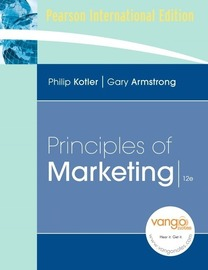 Principle of Marketing, 12th edition