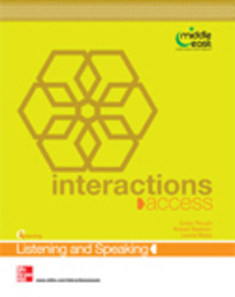 Interaction-listening and speaking-