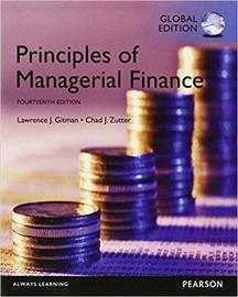 جديد جدا، Principles of Managerial Finance, Global Edition